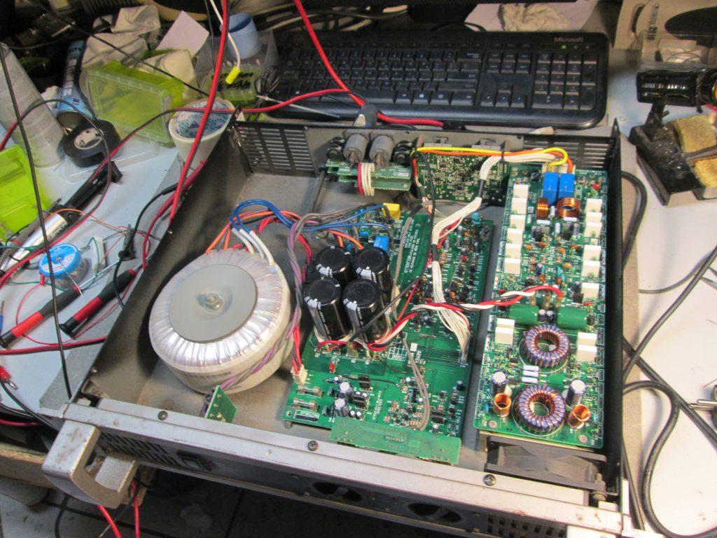 Επισκευή Ενισχυτή YAMAHA P3500s