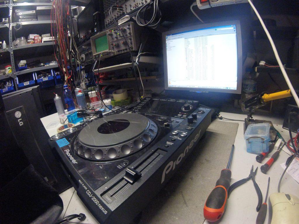 Επισκευή Pioneer cdj2000 nxs Repair service